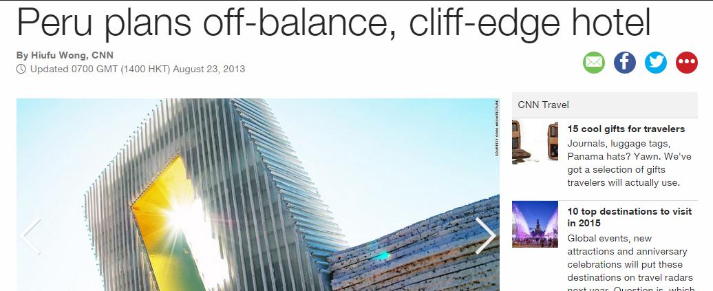 ENTREVISTA. (Estados Unidos). El Unbalance Hotel de OOIIO en la CNN. (Ago_2013)
