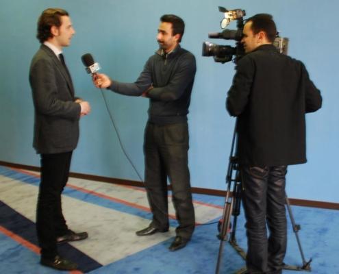 ENTREVISTA. Televisión Nacional Marroquí.