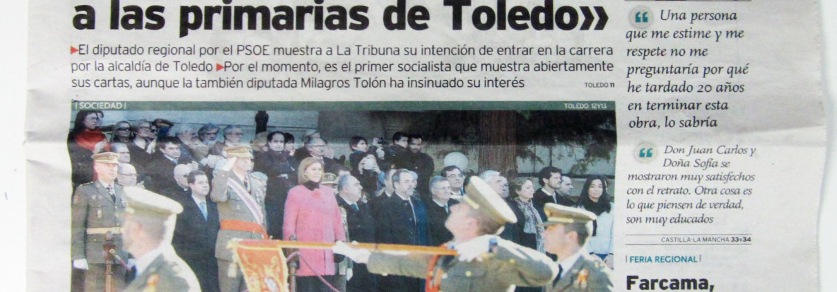 "LA TRIBUNA. (Spain). ""A green zone with an stage to change Salvador´s image"". p 19. (Dec_2014)."