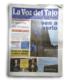 """LA VOZ DEL TAJO. Nº 877. """"Rehabilitación Plaza de San Miguel"""". (España). p 8. (Jul_2015)."""