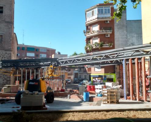 EN CONSTRUCCIÓN. (España). Comienza la obra de la casa R+ en Mora, Toledo.