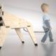 "PRESENTATION. (Spain). NYOVA presents ""Monster Chair"" & ""Monster Table"" designed by OOIIO. Madrid, Spain."