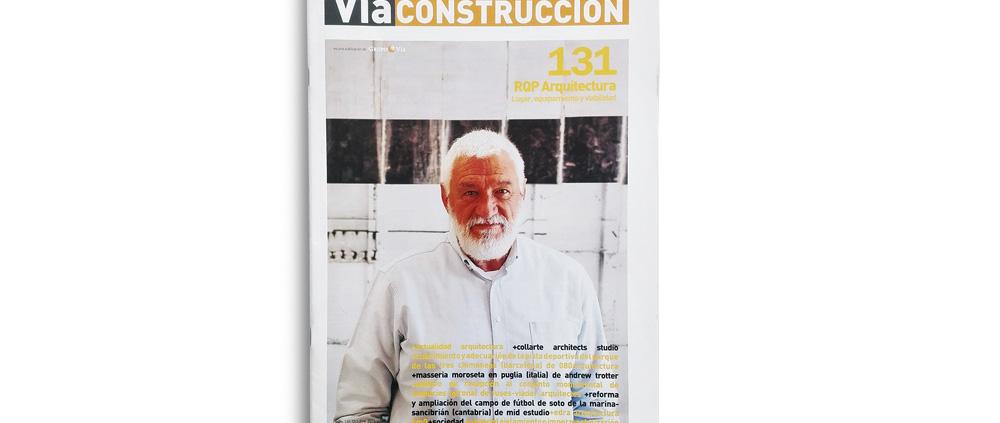 """VÍA CONSTRUCCIÓN. Nº 131. """"OOIIO finaliza el proyecto i-Rock en Arrecife, Lanzarote"""". (España). p 8. (Oct_2016)."""