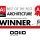 """PRIZE. (United Kingdom). OOIIO shortlisted for """"Young Architect of the Year Award 2017"""". BD Magazine."""