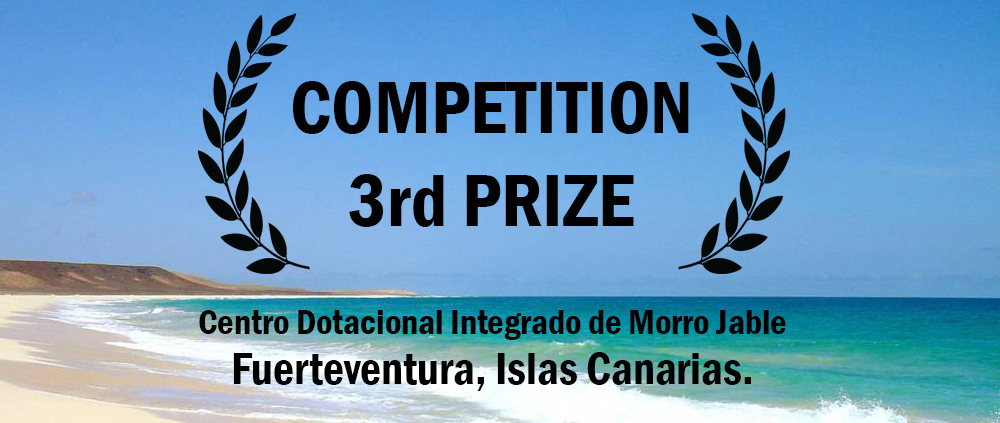 PRIZE. (Spain). OOIIO wins 3rd Prize in Architecture Competition in Canary Islands.