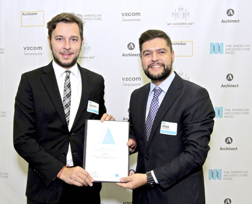 "PREMIO. (Reino Unido). OOIIO es galardonado con el Premio ""Best of the Best in Architecture"". AI Global Media."