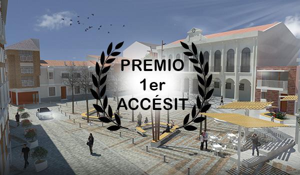 PREMIO. Remodelación de la plaza de Íscar.