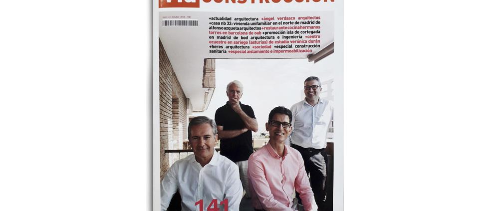 """VÍA CONSTRUCCIÓN. Nº 141. """"Cottage in Las Herencias"""". (Spain). p 10. (Oct_2018)."""