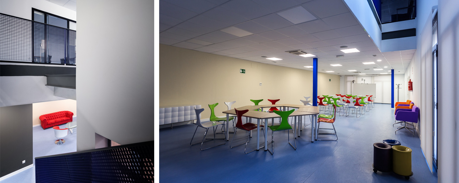 BUSINESS INCUBATOR OFFICES IN MADRIDEJOS