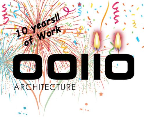 OOIIO Arquitectura ¡¡Cumple 10 AÑOS!!