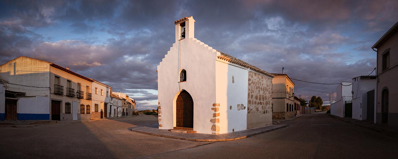 Rehabilitation of 16th Century Building. La Purísima Chapel in El Romeral